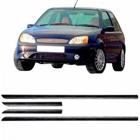 Friso Lateral - Ford Fiesta 2 Portas 00 01 02 4 Peças