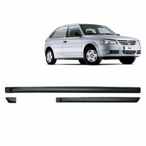 Friso Lateral - VW Gol GIV 2005 em diante 2 Portas Preto Auto Colante Jogo 6 Peças